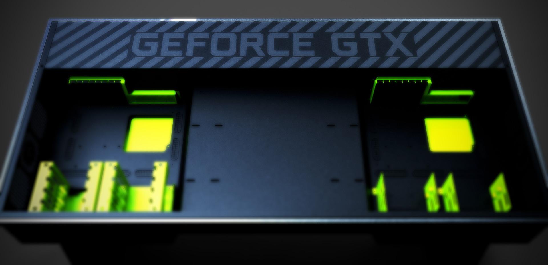 NVidia Desk_green1